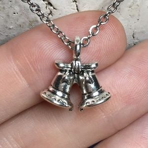 🔔 Christmas Holiday Bells Necklace 🔔 4for$20
